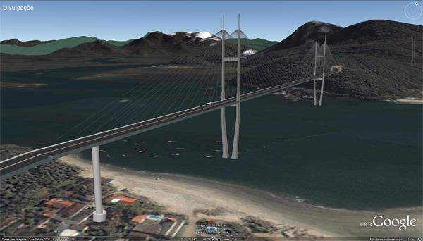 Ponte Matinhos/Guaratuba pode começar já em 2014