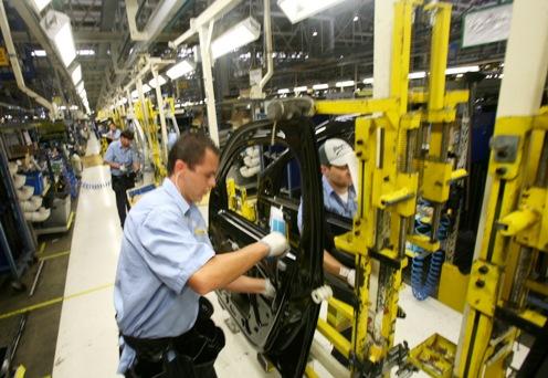 Indústria automotiva. Foto: Gilson Abreu/FIEP