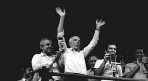 Curitiba comemora 30 anos do Diretas Já!