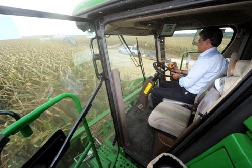 Gov. Beto Richa inaugura nova ubnidade da Cargill