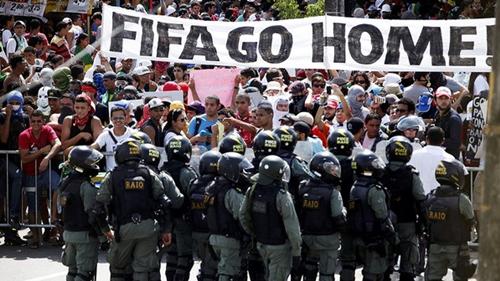 Protestos contra Copa serão em nove capitais