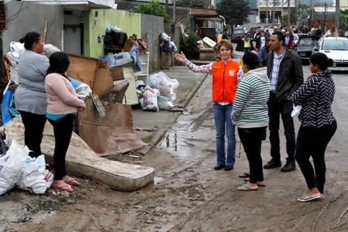Famílias afetadas pelas chuvas começam receber   donativos e apoio no PR