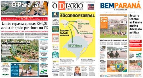 Discriminação ao PR ganha as manchetes