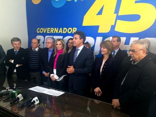 Beto Richa apresenta Cida Borghetti como  vice na disputa no PR