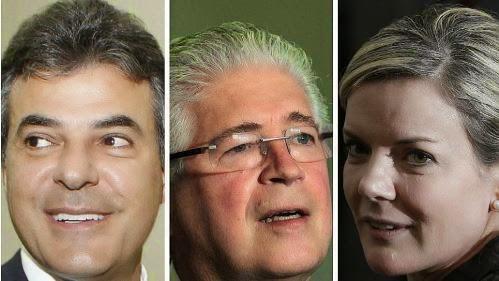 Maringá: Richa 37,6%, Requião 27,5% e Gleisi 20,4%