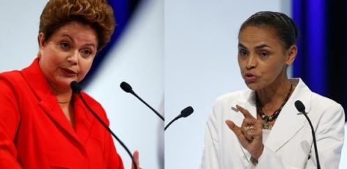 Dilma compara Marina a Collor e Jânio Quadros