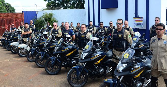 PRF reforça segurança na região da ponte da amizade