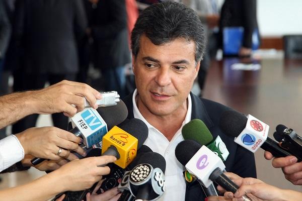 Governador Beto Richa. Foto/ ANPr