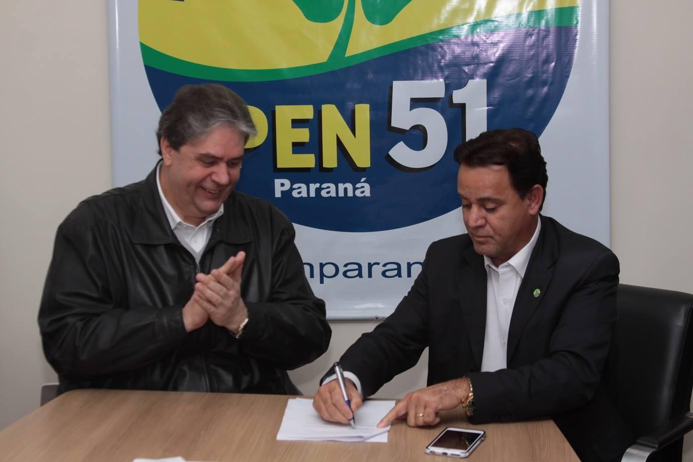 PEN oficializa pré-candidatura de Wilson Picler em Curitiba