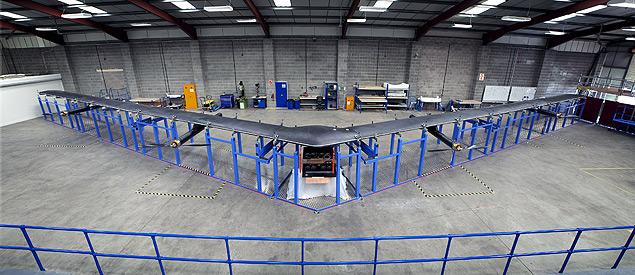 Facebook cria drone de 40 m para levar internet a áreas isoladas