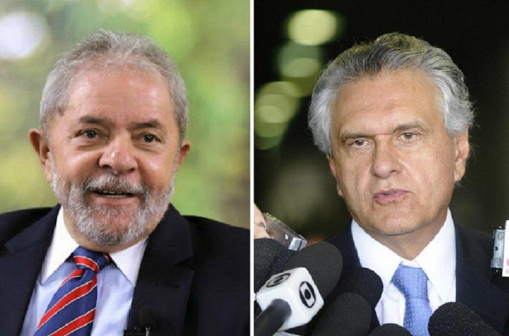 Chamado de bandido por Caiado, Lula entra com 'queixa' no STF