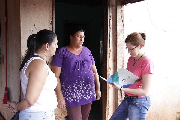 Famílias atendidas pelo programa Família Paranaense. Curitiba, 21-08-2015. Foto: Rogério Machado/SECS