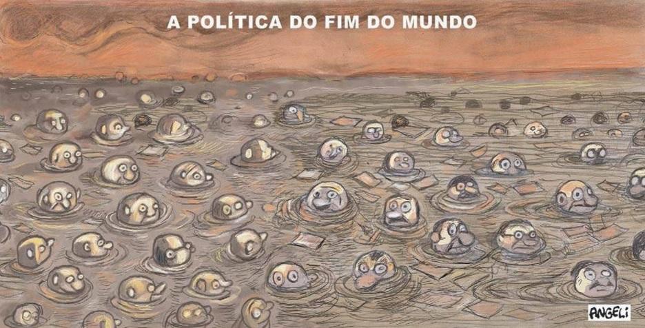 A política do fim do mundo - por Angeli