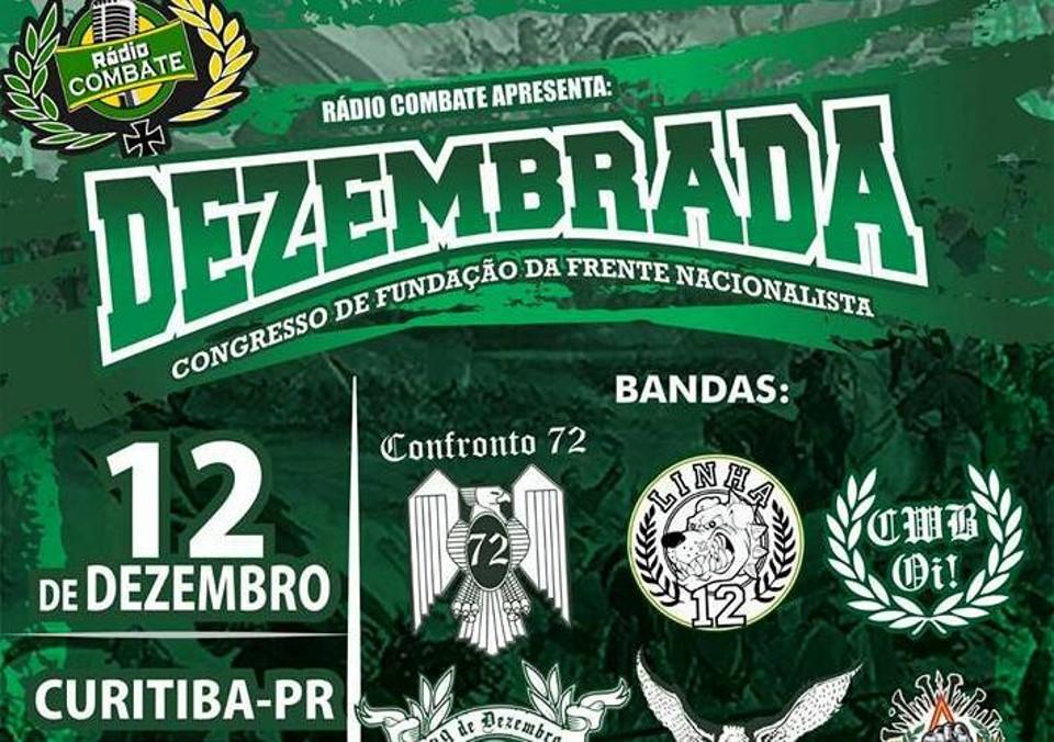 Região de Curitiba vai sediar congresso de grupo inspirado no fascismo