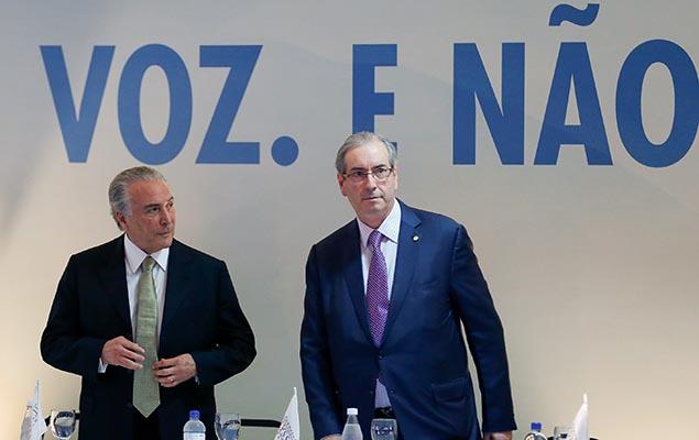 Em mensagem, Cunha cita repasse de R$ 5 milhões a Michel Temer