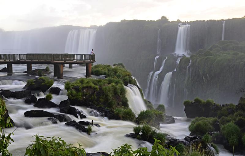 Mais de 32 mil pessoas visitaram as Cataratas do Iguaçu neste carnaval