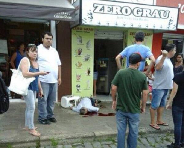 Violência: Morre homem atingido em assalto na Lapa; Ele estava na calçada
