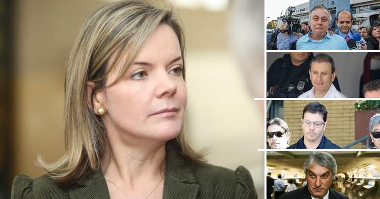 Gleisi quer acabar com vazamentos de delações premiadas