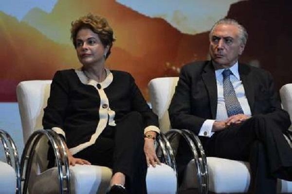 Dilma proíbe Temer de pisar no Palácio