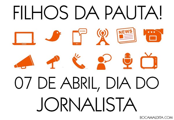 7 de abril, Dia do Jornalista