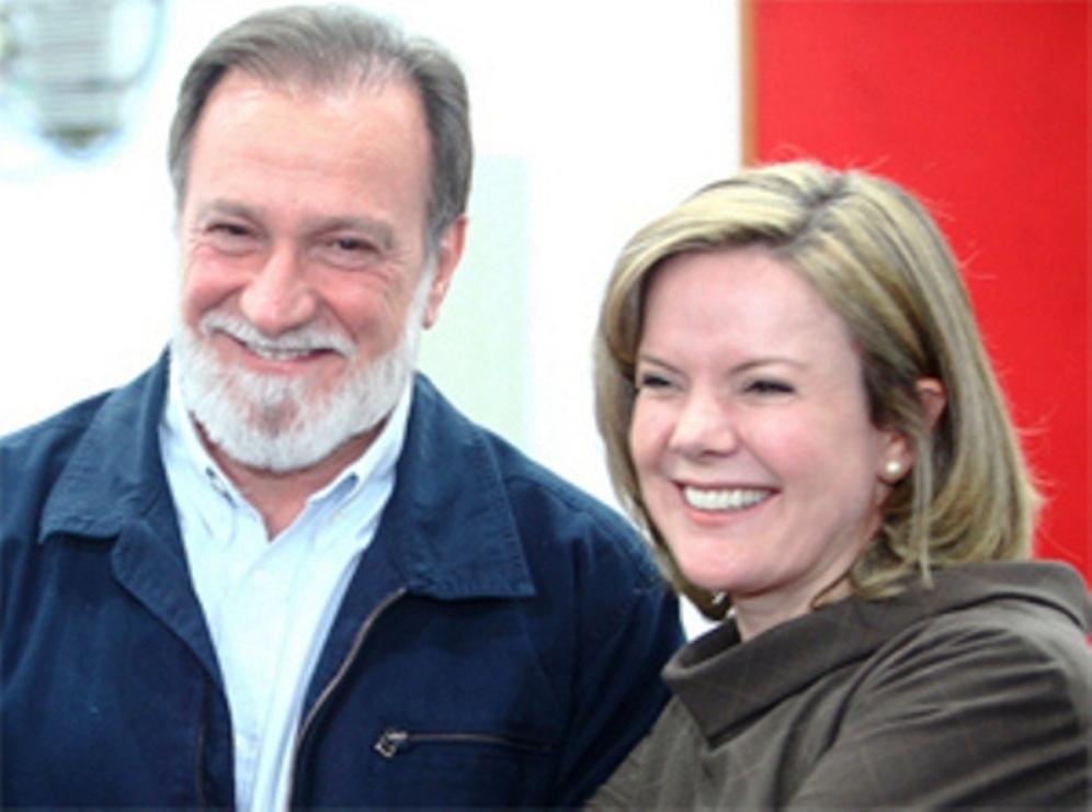 Gleisi convocou Osmar Dias para livrar Dilma do impeachment no Senado