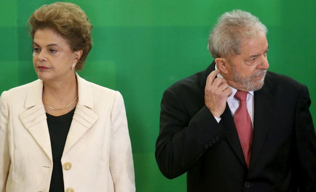 Dilma e Lula não aparecem para votar