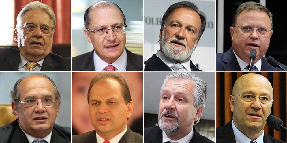 FHC, Alckmin, Osmar Dias, Blairo Maggi, Gilmar Mendes Jorge Samek, Ricardo Barros e  Romanelli vão receber a  Ordem do Pinheiro de 2016