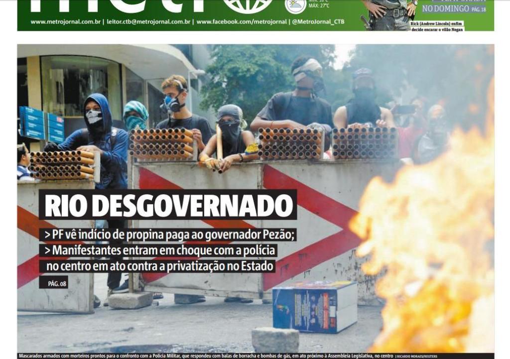 Rio 40 caos