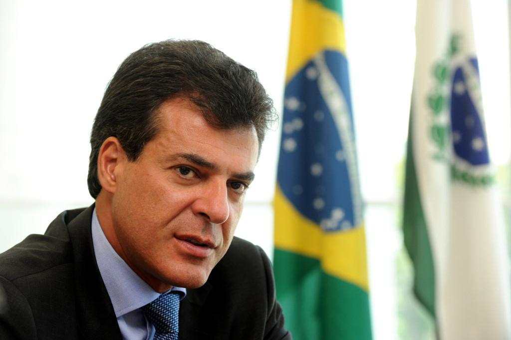 Governador Beto Richa recebe no gabinete do palácio Iguaçú a diretoria da INFRAERO. Curitiba, 12/03/2012 Foto: AENotícias