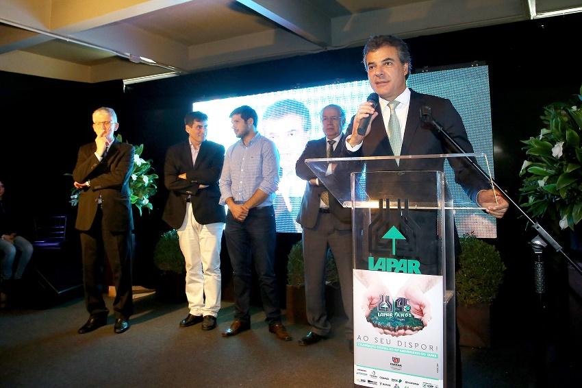 Governador Beto Richa, participa em Londrina, da solenidade de comemoração dos 45 anos do Instituto Agronômico do Paraná (Iapar). Londrina, 29/08/2017. Foto: Jaelson Lucas/ANPr