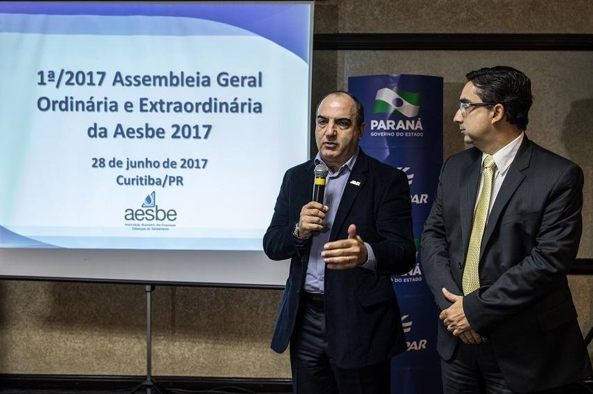 1 Assembléia Geral Ordinária da Aesbe 2017. Curitiba, 28/06/2017 Foto: Maurilio Cheli