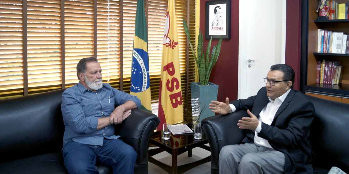 Osmar no PSB Nacional