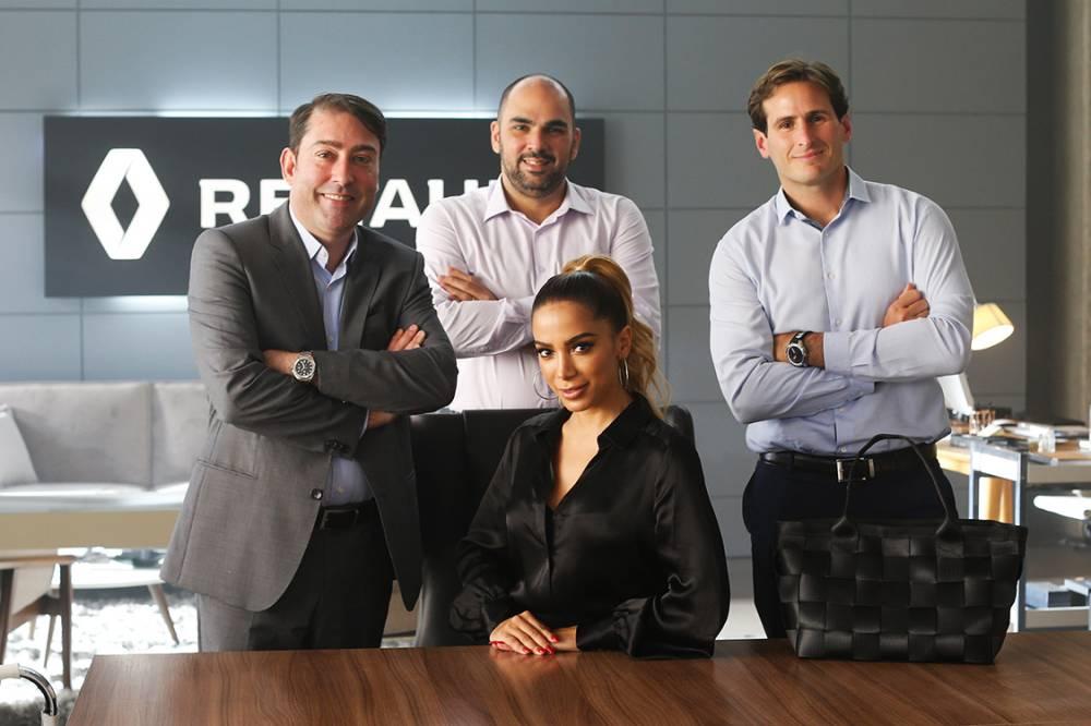 Anitta parou a fábrica da Renault