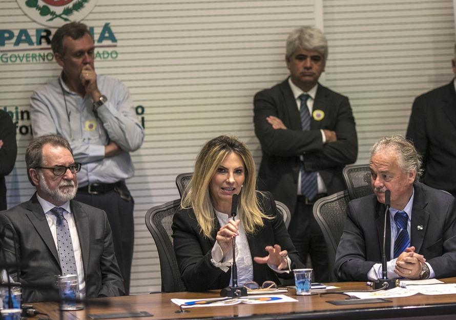 Cida lança programa de revitalização do rio Iguaçu