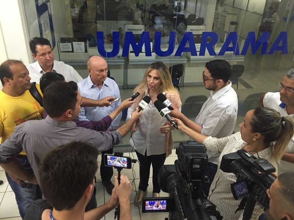 Cida em Umuarama