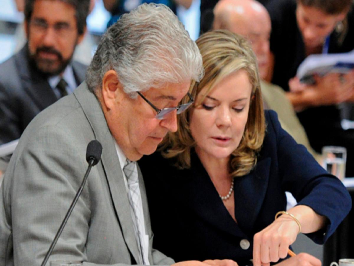 """Senadores esquerdistas, Gleisi e Requião gastaram mais de R$ 700 mil em verbas de """"atividade parlamentar"""""""