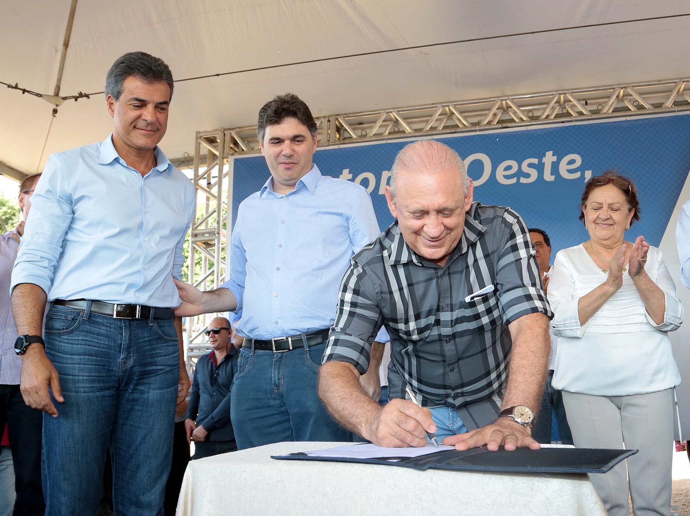 Obra no Sudoeste mostra que Paraná venceu crise, diz Traiano