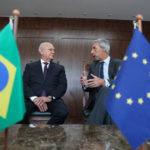Traiano recebe embaixador da União Europeia que prepara encontro no Paraná
