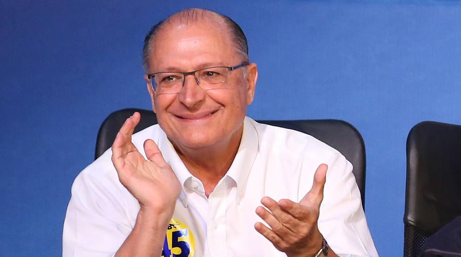 'Só temos uma tarefa: ir para o segundo turno', diz Alckmin