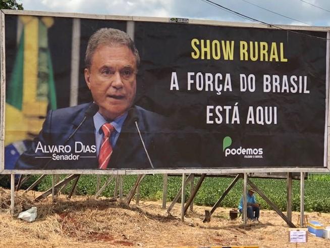 Álvaro Dias em Cascavel