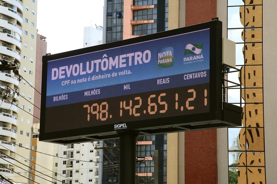 Nota Paraná chega a 2 milhões de pessoas cadastradas