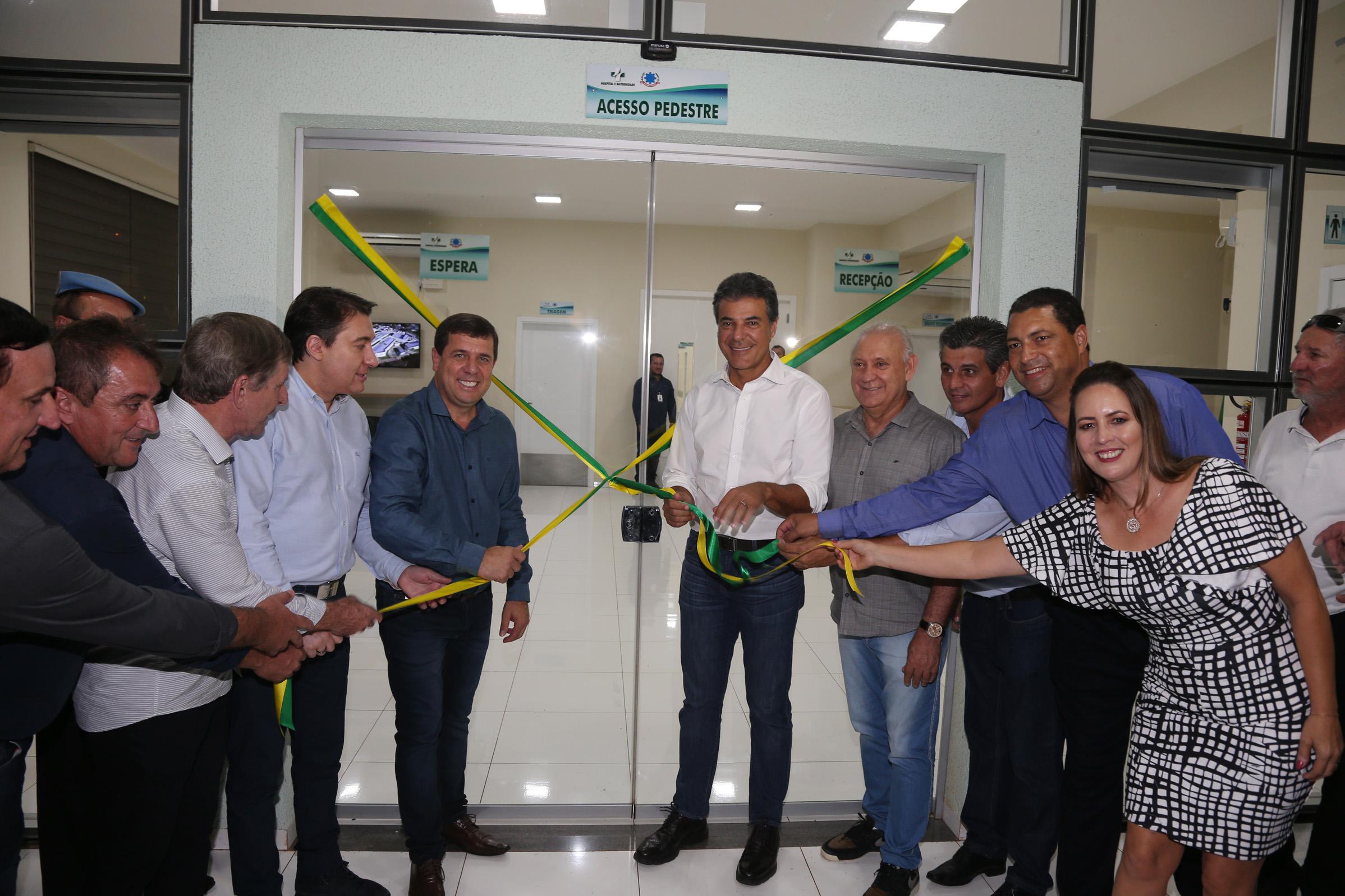 São Miguel do Iguaçu agora tem um hospital para atender toda população, diz Giacobo