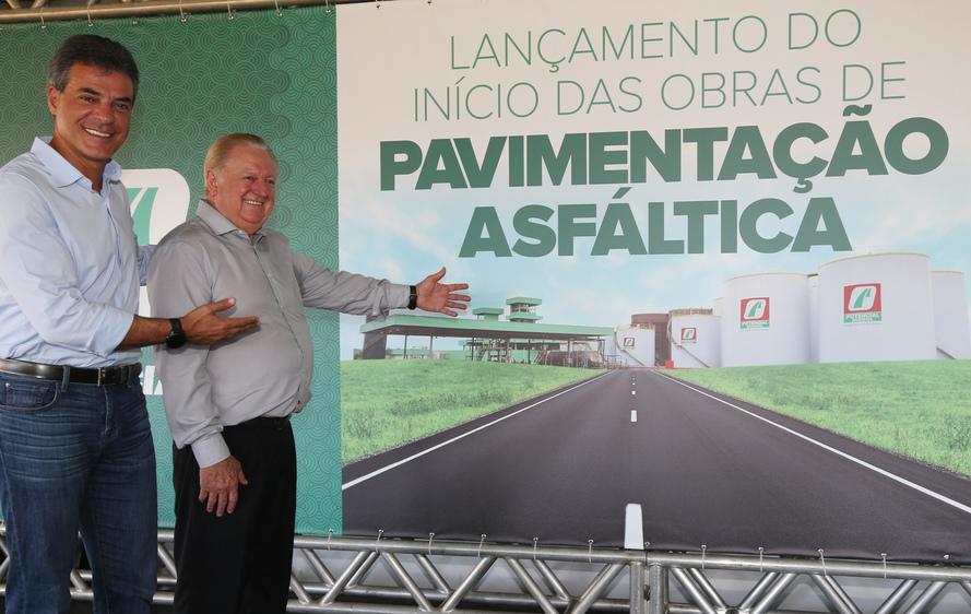 Richa autoriza pavimentação da estrada na Lapa