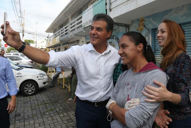 Beto Richa em Maringá e Francisco Beltrão