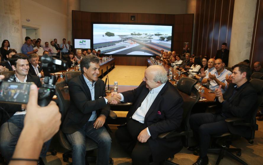 Richa repassa R$ 118 milhões para obras de dois viadutos e duas trincheiras na Linha Verde