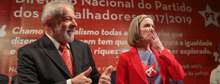 "Movida pelo delírio ideológico, Gleisi volta a ameaçar o Brasil se Lula for preso: ""vão pagar o preço"""