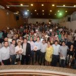 Michele Caputo entrega os selos de qualidade para unidades de saúde de seis cidades das regiões de Guarapuava e União da Vitória