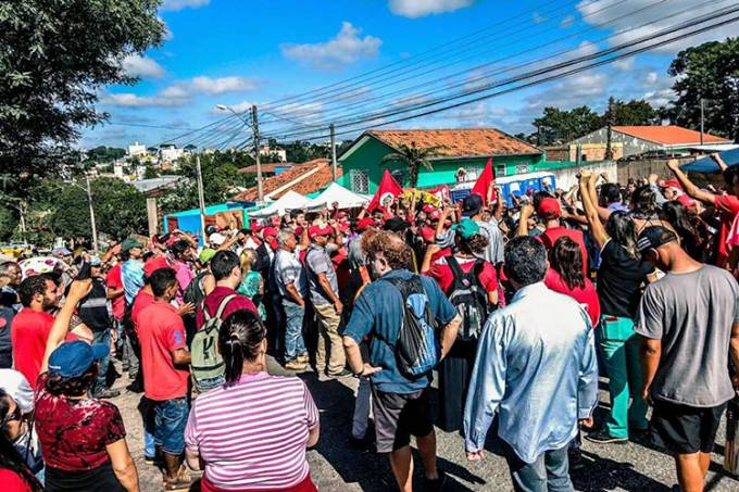 Prefeitura de Curitiba pede que Lula saia da Polícia Federal