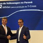 Volkswagen anuncia mais R$ 2 bilhões em investimentos no Paraná
