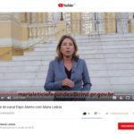 Maria Letícia lança canal no Youtube
